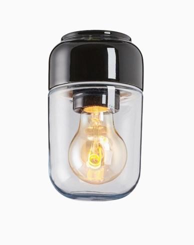 Ifö Electric Ohm 100 badstuehøyde 170 mm svart klart glass IP44 E27 40W tak-/veggmontering