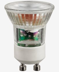 Unison LED Mini GU10 MR11 3W/2700 250lm Dimbar