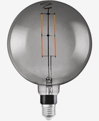 Ledvance Smart+ Bluetooth Globeformet Ø200 Smoked Dim 6W/825. E27