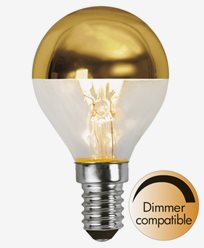Star Trading LED toppförspeglad klotlampa E14 3,5W (25W). Dimbar