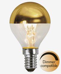 Star Trading LED toppforspeilet Krone/Illum E14 3,5W (25W). Kan dempes
