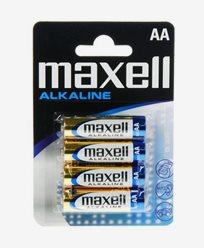 Maxell LR6 AA 4p Alkaliska batterier