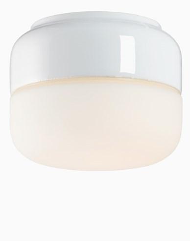 Ohm 140 højd 115 mm matt opal glass hvit GX53 7W