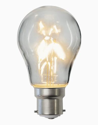 Star Trading LED-pære PC-plast A55 B22 2700K 3,3W (25W)