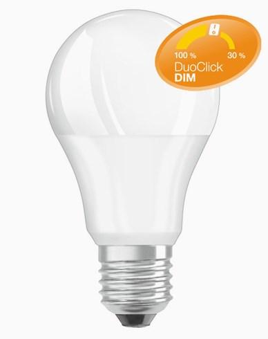 Osram LED-lampa Duo Click Dim 8,5W E27