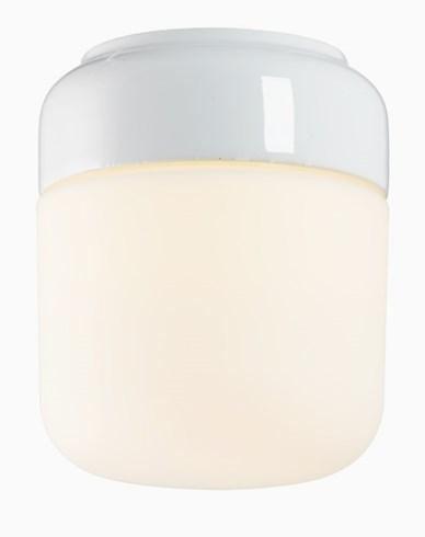 Ohm 140 højd 170 mm matt opal glass hvit E27 40W
