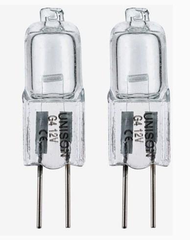 Unison Halogenstift 5 W 12V G4. 2-pack