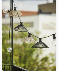 Star Trading lampeskjerm Wide svart 58cm