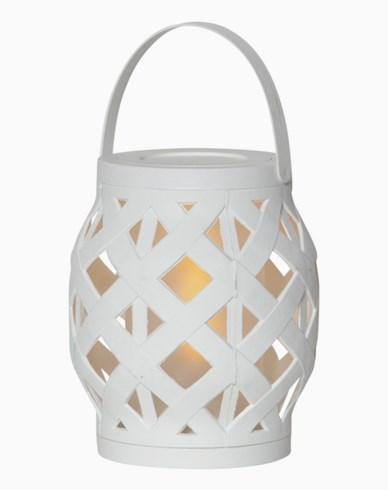 Star Trading Lykt Flame lantern H 16cm, batteridrevet