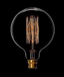 Danlamp Mega Edison lyktlampa med karbontråd 40W. B22