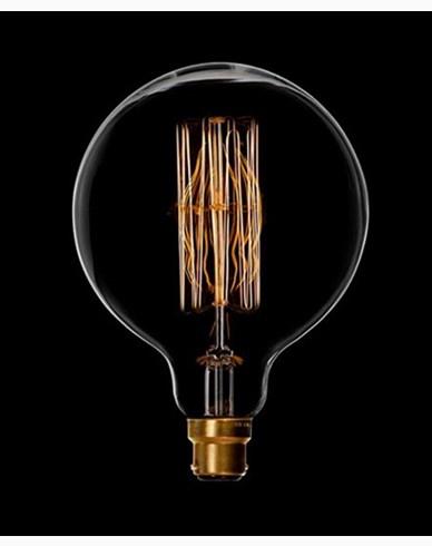 Danlamp Mega Edison glødepære med karbontråd 40W. B22