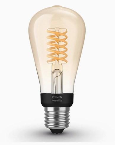 Philips Hue White Filament E27, Edison, ST64