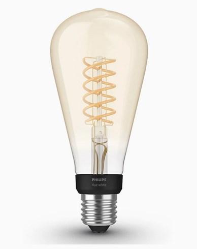 Philips Hue White Filament ST72 E27, Edison, 2100K