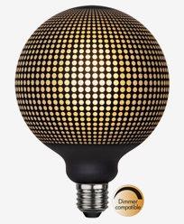 Star Trading LED-pære E27 G125 Graphic