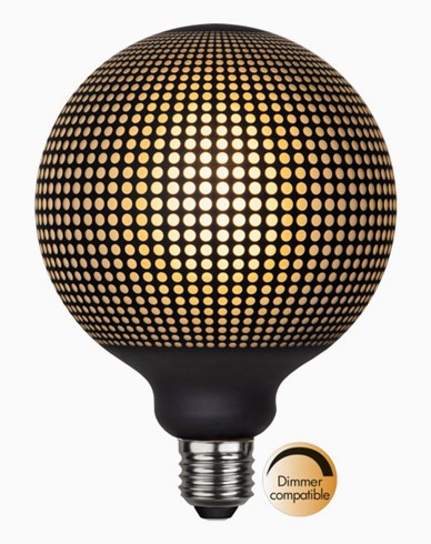 Star Trading LED-lampa E27 G125 Graphic
