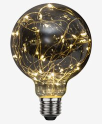 Star Trading LED-pære E27 G95 Decoled 1,5W/2900K