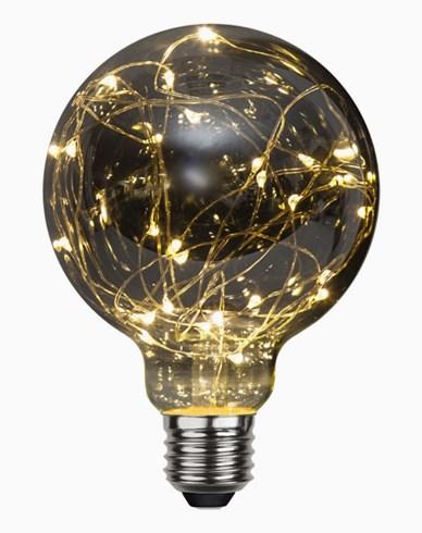 Star Trading LED-lampa E27 G95 Decoled 1,5W/2900K