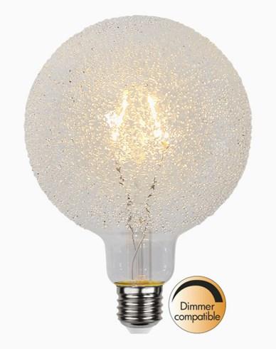 Star Trading LED-lampa E27 G125 Icedrop glass, 1W/2000K