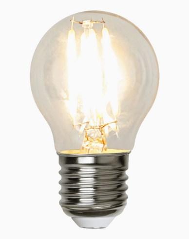 Star Trading LED-pære E27 G45 2W/2700K 12-24V