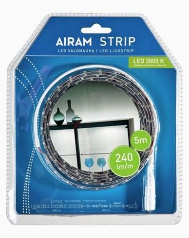 Airam LED Strip 5m vit IP20/54, 24W. 4107189