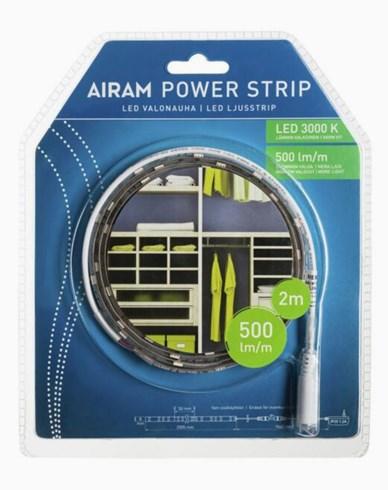 Airam LED-Powerstrip Ljusband 3000K 2m 12V 4,8W/m