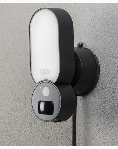 Konstsmide Smartlight 5W / 12V svart, Kamera, Høyttaler. Mikr