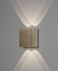 Konstsmide Chieri vegglykte messning 2x2W LED