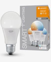 Ledvance SMART+ WiFi CL A TW 60 tbdW/E27. 3-pakke