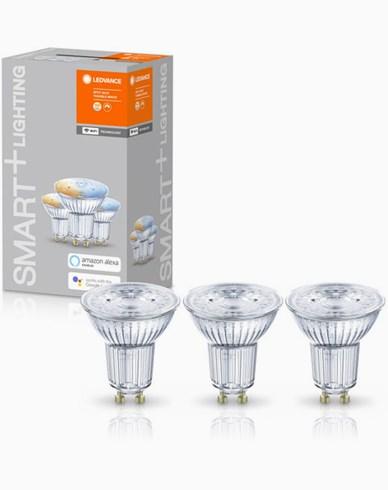 Ledvance SMART+ WiFi PAR16 TW 50 40° tbdW/GU10. 3-pack