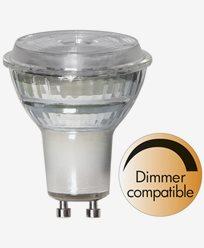 Star Trading LED-pære GU10 MR16 Spotlight Glass