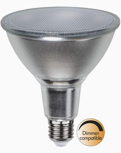 Star Trading LED-lampa E27 PAR38 Spotlight Glass