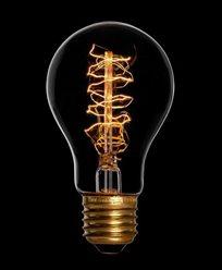 Danlamp Lyktlampa Standard de luxe. Glödlampa med karbontråd 25W E27