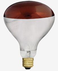 Unison Varmelampe R125 rød E27 230V 150W