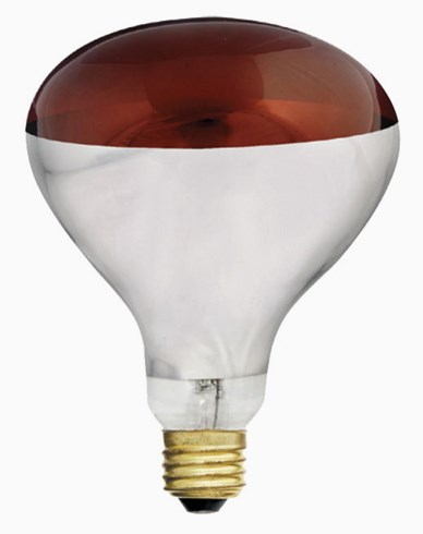 Unison Värmelampa R125 röd E27 230v 150W