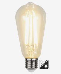 Star Trading LED Sensorlampa Edison 4,2W/2100K E27(30W)
