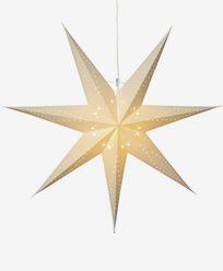 Star Trading Katabo adventsstjärna 70 cm, vit