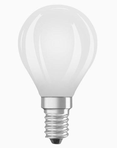 OSRAM LED-lampa Klot MATT 6,5W/840 (60W) E14. Dim.