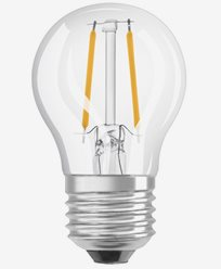 OSRAM LED-lampa Klot MATT 5W/840 (40W) E27. Dim.