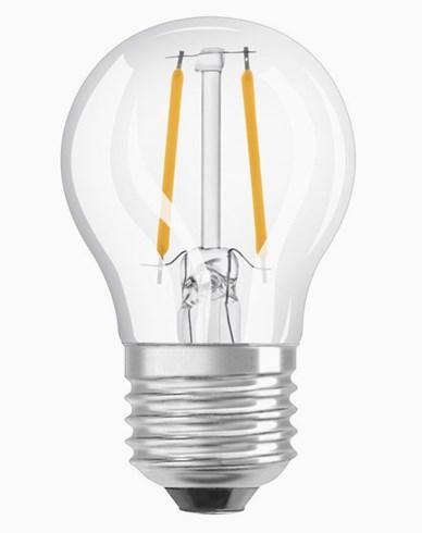 OSRAM LED-LAMPPU Pallonmuotoinen Kirkas Himmennettävä 5W/840 (40W) E27