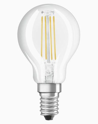 OSRAM LED-LAMPPU Pallonmuotoinen Kirkas Himmennettävä 5W/840 (40W) E14