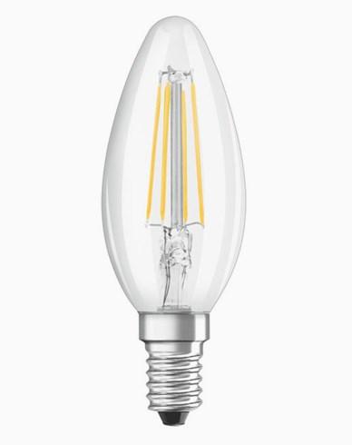 OSRAM LED-lampa Kron Klar 5W/840 (40W) E14. Dim.