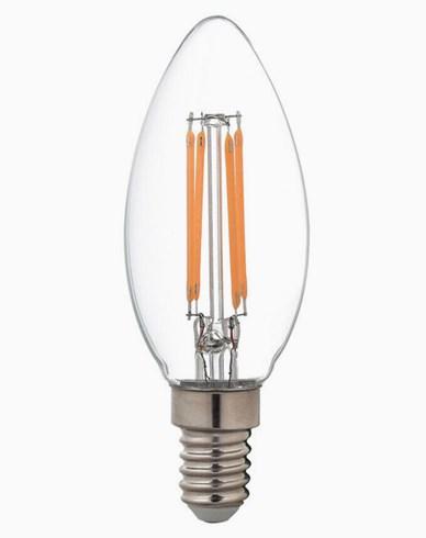 Airam LED-pære Mignon/Krystall E14 4,5W/2700K (40W)