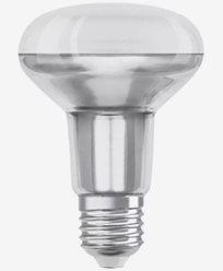 Osram LED-pære R80 E27 36° 9,1W/827 (100W)