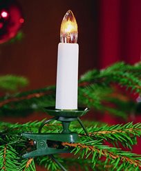 Julgransbelysning 25 lampor delad stickpropp 230V