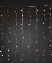 Gardinslinga 140x120cm 120 amber LED 30V/IP20