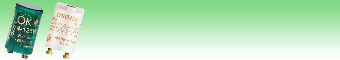Glimtändare / Lysrörständare