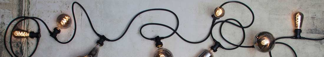 Ljusslingor med lampor