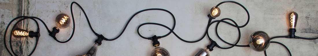 Lyslenker med lyspærer