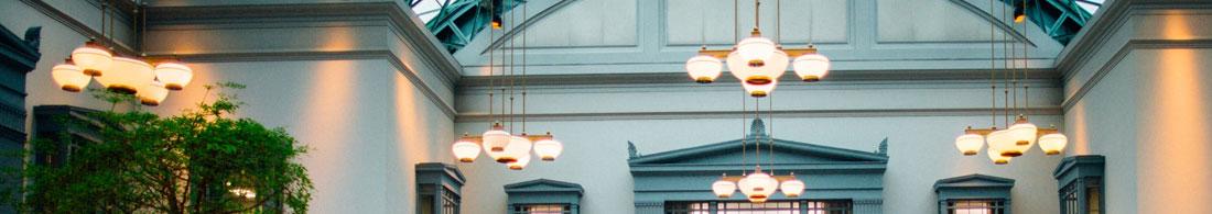 Vinduslamper oppheng