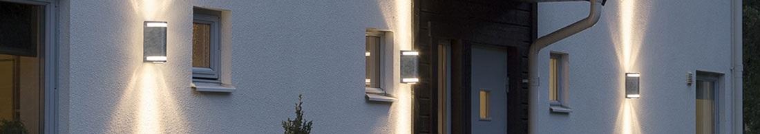 Vegglampe utendørs